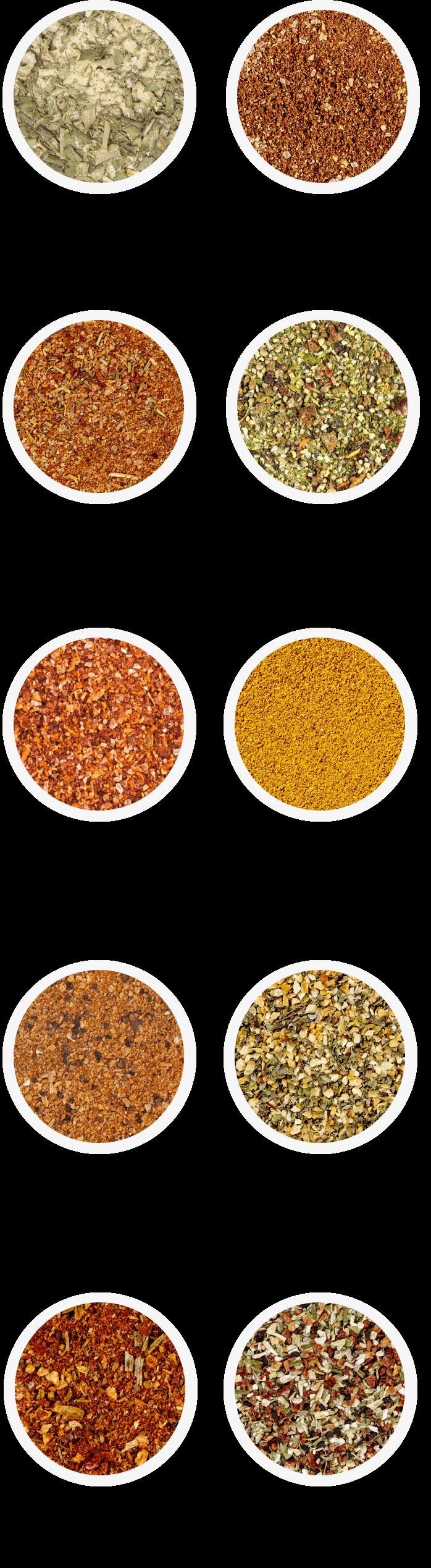 Just Spices Caja de Muestra
